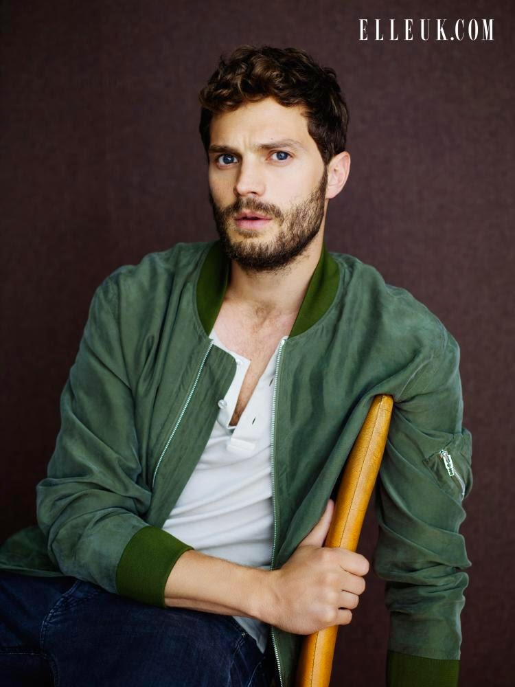 Jamie Dornan Sits for Elle UK February 2015 Issue, Talks 'Fifty Shades of Grey'