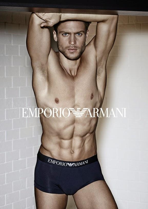 Jason Morgan Stars in Emporio Armani Spring/Summer 2015 Underwear Campaign