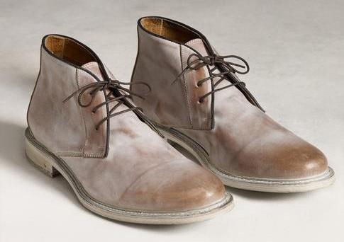 Shop Chukka Shoe Styles: John Varvatos Chukka Boots Men's Spring ...