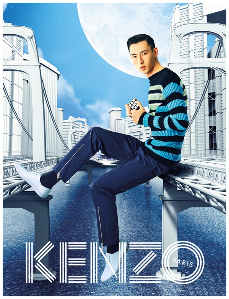 Kenzo Dreams Big for Spring/Summer 2015 Campaign