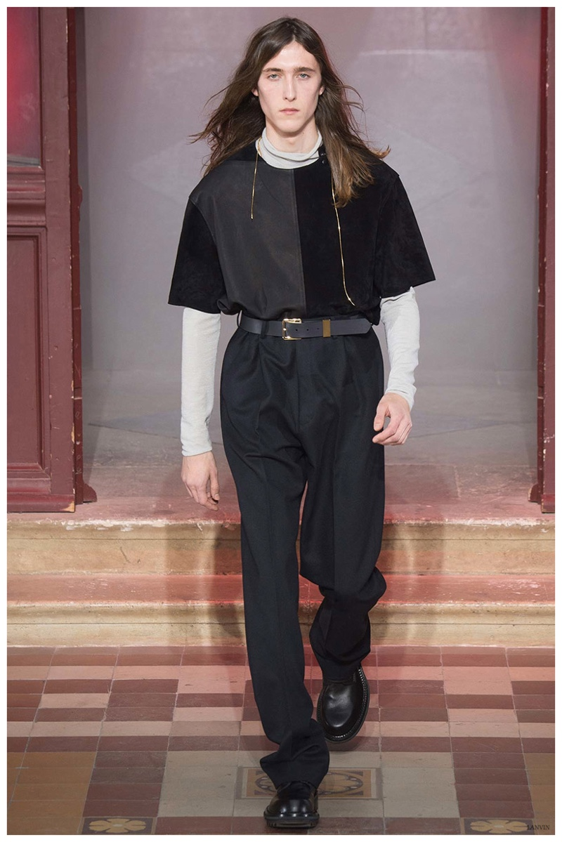 Lanvin Fall/Winter 2015 Menswear Collection: Individual Dressing
