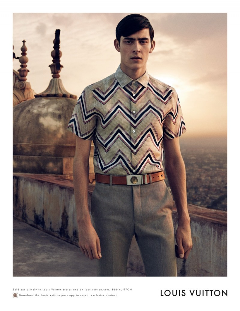86846f005e51 See More Ad Images from Louis Vuitton s Spring Summer 2015 Menswear ...