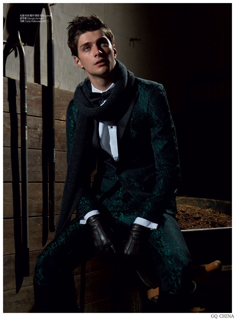Matthew Bell Delivers Equestrian Chic for GQ China