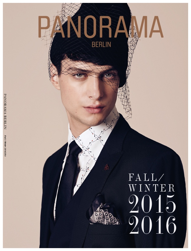 Matthew Bell is Punk Chic for Stylish Panorama Cover Fashion Shoot