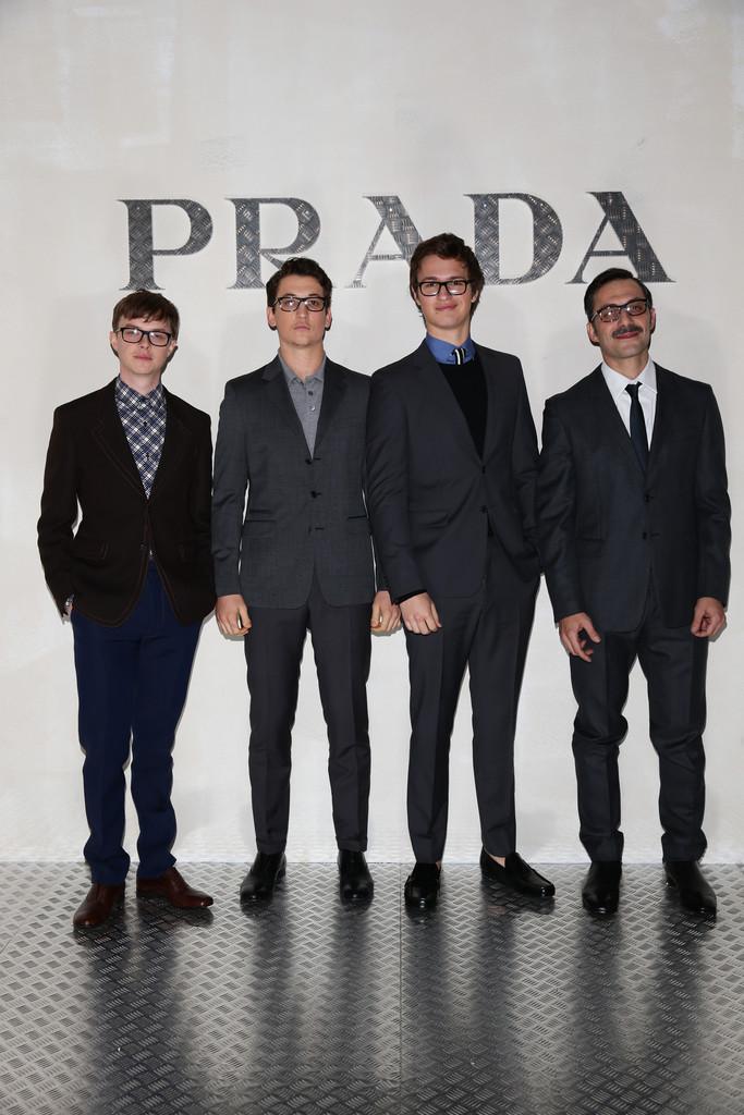 Style Watch: Dane DeHaan, Ansel Elgort & Miles Teller are Prada Boys