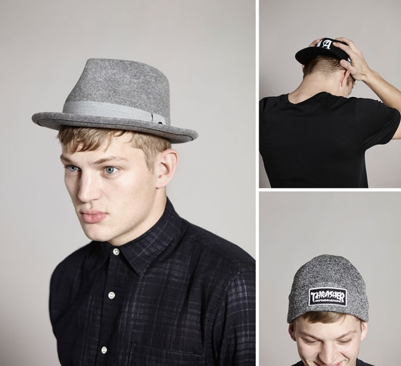 ddb5ddb26f2 Model Sebastian Sauve rocks various hat styles now available at Revolve