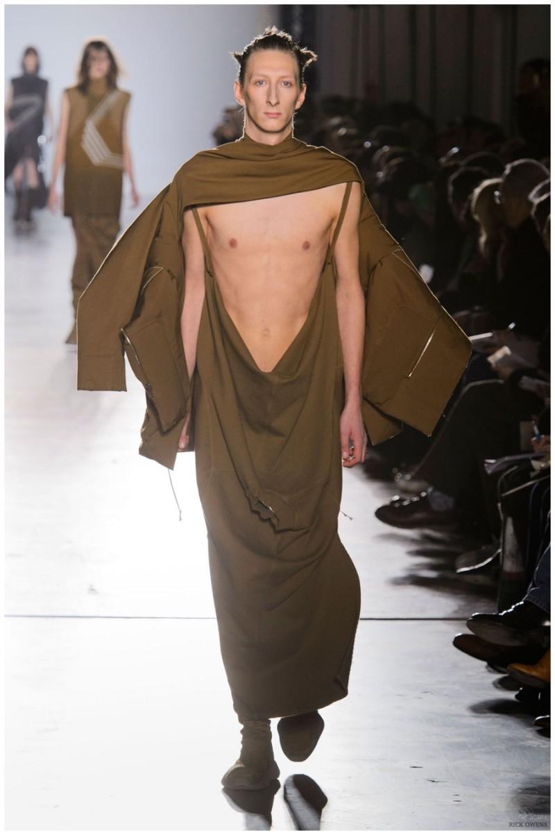 Rick Owens Fashion Show