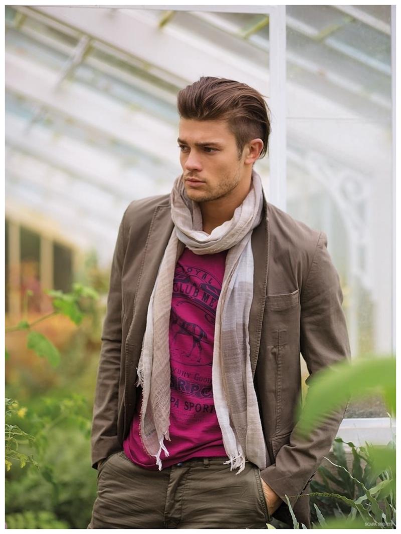 Eugen Bauder Models Casual Styles for Scapa Sports Spring/Summer 2015