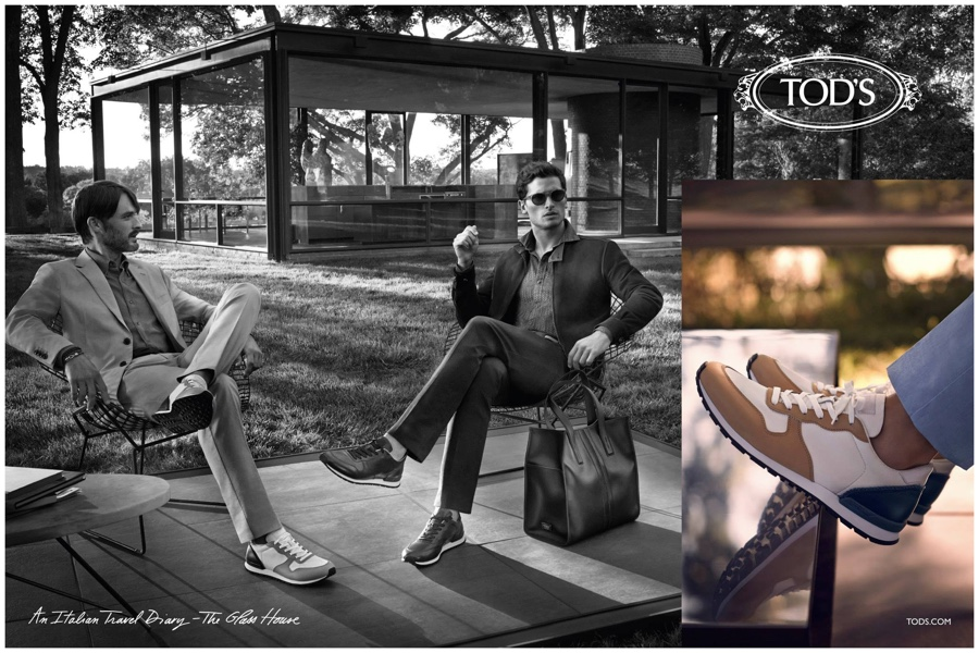 Tod's Spring/Summer 2015 Campaign Featuring Tom Warren, Ben Hill & Garrett Neff