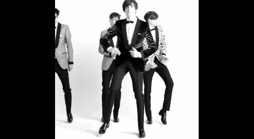 Tom Ford Models Dance to Robert Palmer's Addicted to Love: See Tom Ford's Fall 2015 Menswear Collection