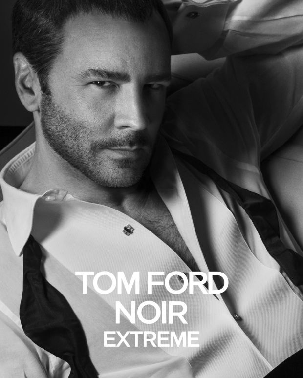 Tom Ford Stars in Tom Ford Noir Extreme Fragrance Campaign