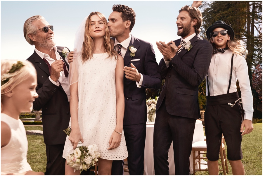 Tommy Hilfiger Spring 2015 Campaign: The Hilfigers Pose for Outdoors Wedding Pictures