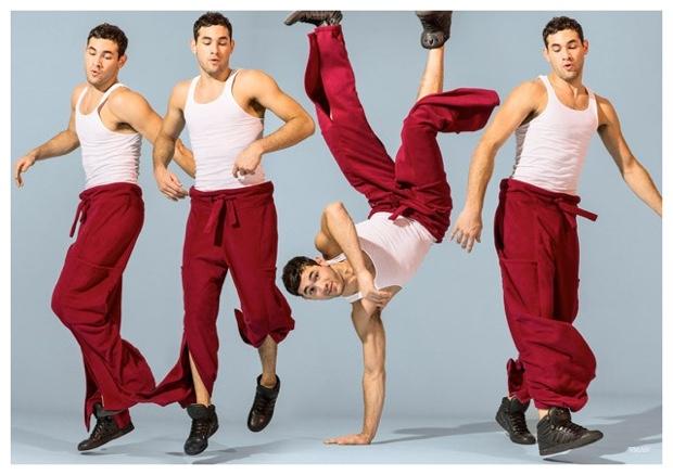 Eric Ramos, Chris Bunn + More Bust a Move for VMAN Fashion Shoot