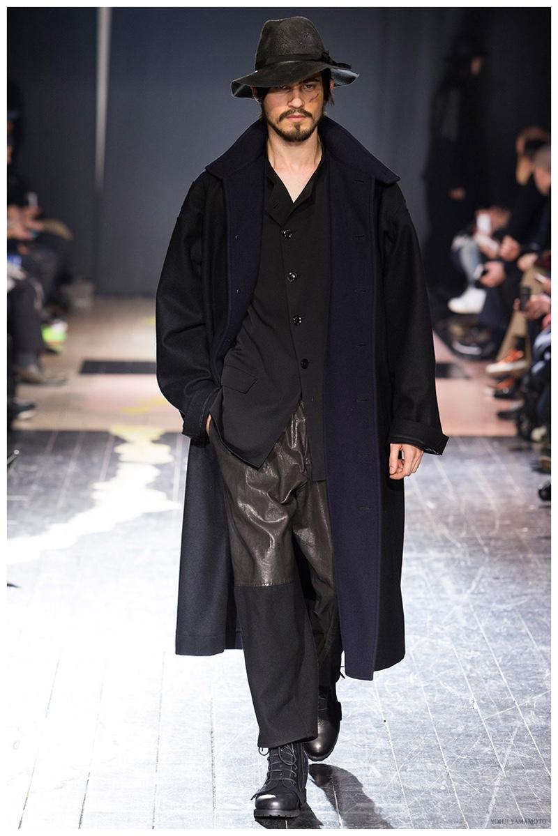 Yohji Yamamoto Fall Winter 2015 Menswear Collection The
