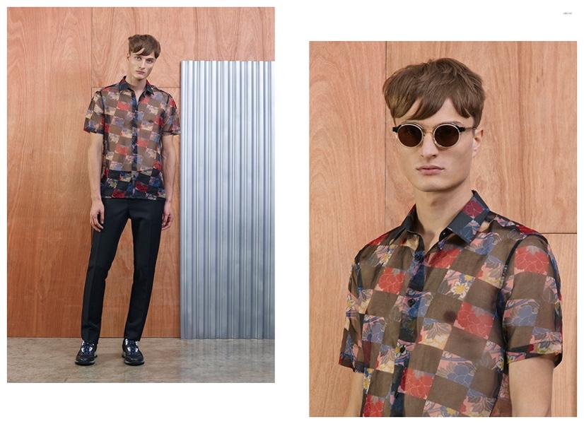 Almantas Petkunas Models Spring 2015 Men's Looks from Marc Jacobs, Raf Simons, Acne Studios + More for oki-ni