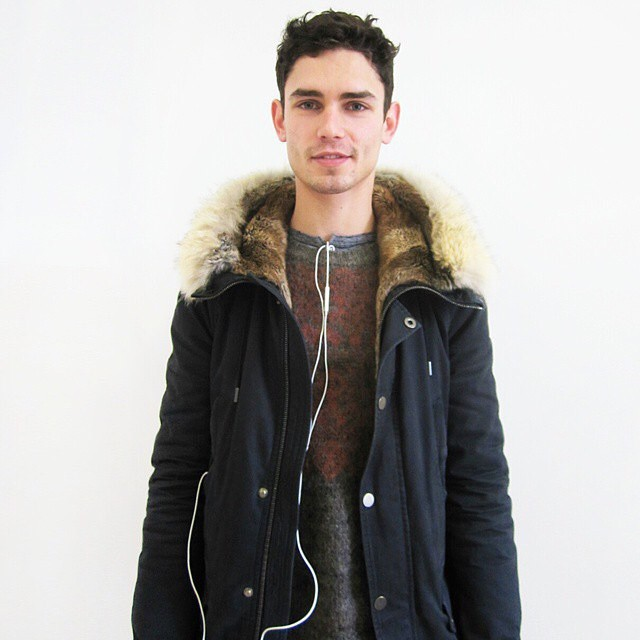 Arthur Gosse is fashion week ready.