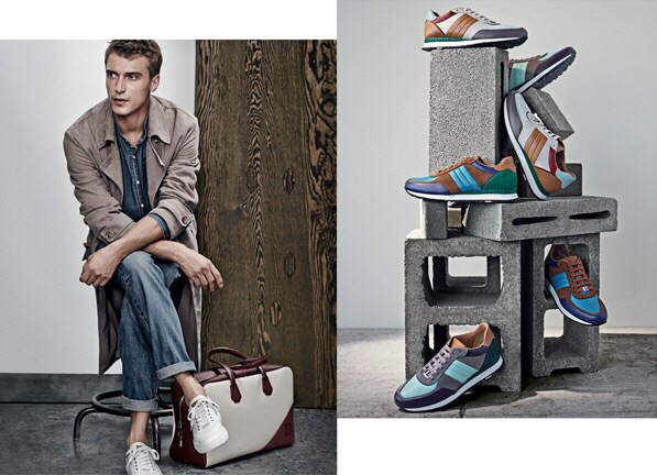 Clément Chabernaud Stars in Bally Spring/Summer 2015 Men's Campaign