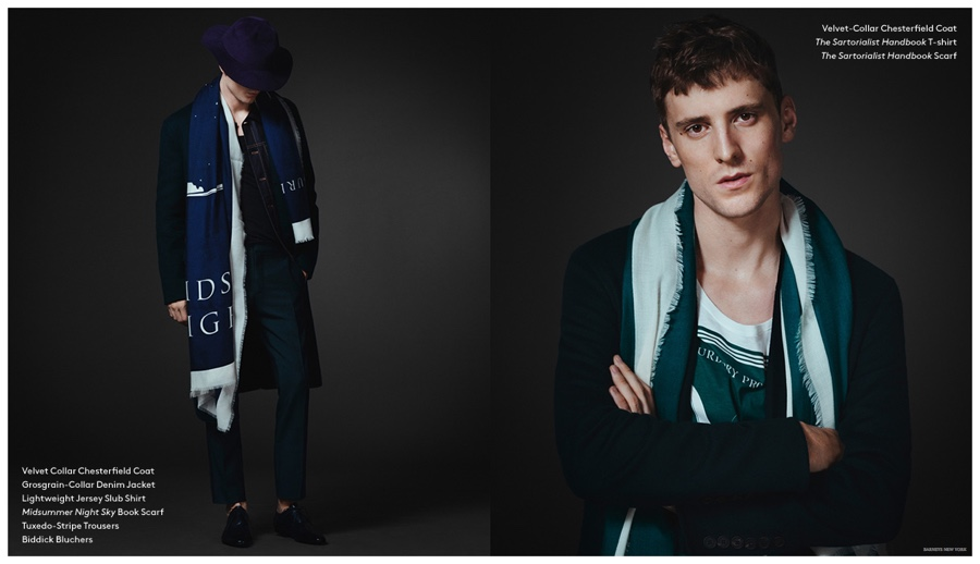 Burberry XO Barneys New York Lookbook + George Barnett Interview