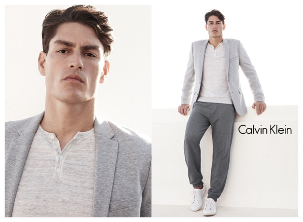 Tyson Ballou Models Calvin Klein White Label Minimal Designs for Spring/Summer 2015 Campaign