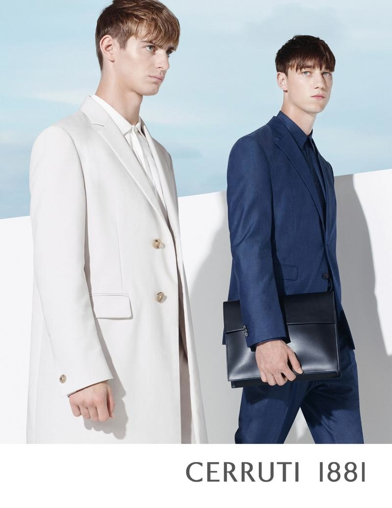 Cerruti 1881 Spring/Summer 2015 Features Chic, Minimal Styles