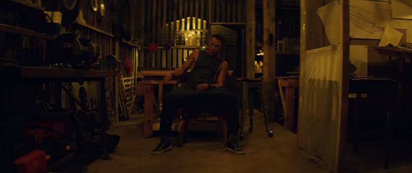Channing Tatum Wears Cockpit USA Double Down T-Shirt in 'Magic Mike XXL' Trailer