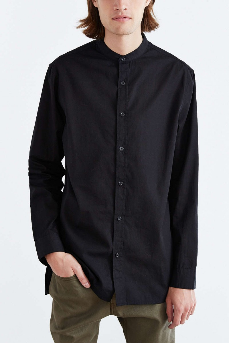 5 Simple Mandarin Collar Men S Shirts Inspired By Orlando