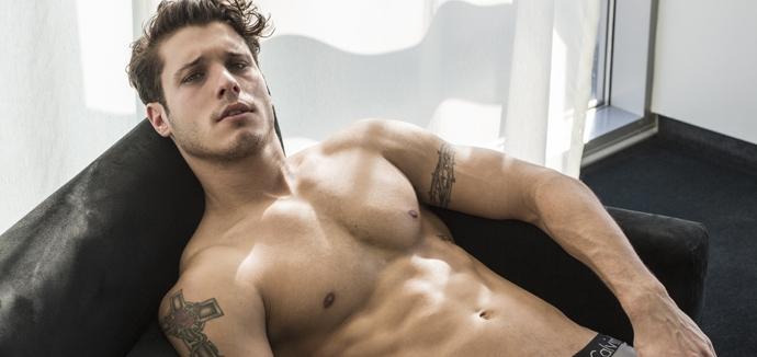 Cody Calafiore delivers a peek of his Calvin Klein underwear.