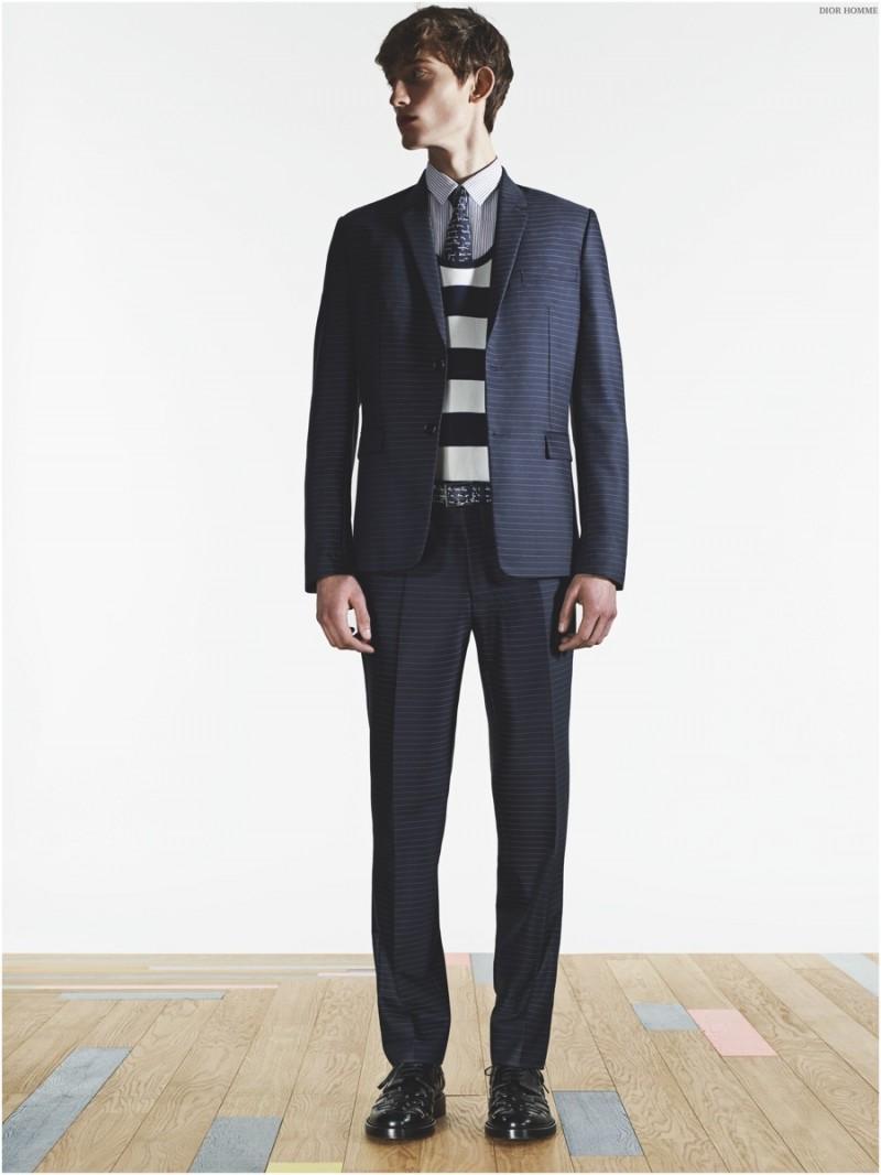 Dior-Homme-Essentials-Spring-2015-Menswear-Suits-Stripes-002