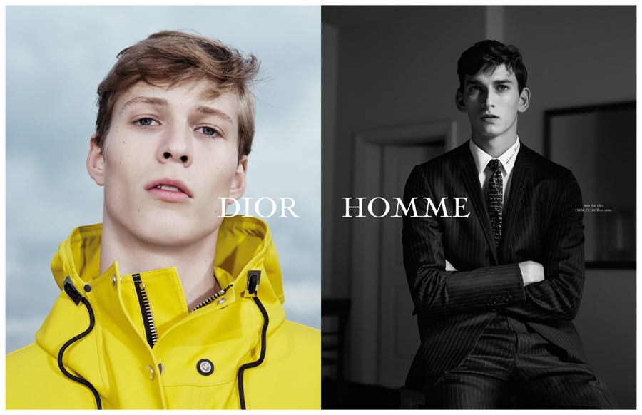 Dior Homme Spring/Summer 2015 Film Campaign: The Letter by Willy Vanderperre