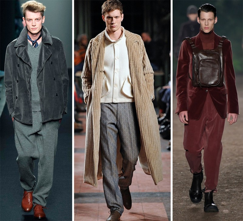 Left to Right: Bottega Veneta, Billy Reid, Ermenegildo Zegna Couture