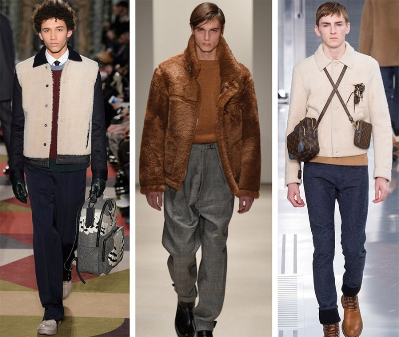 Left to Right: Valentino, Jil Sander, Louis Vuitton