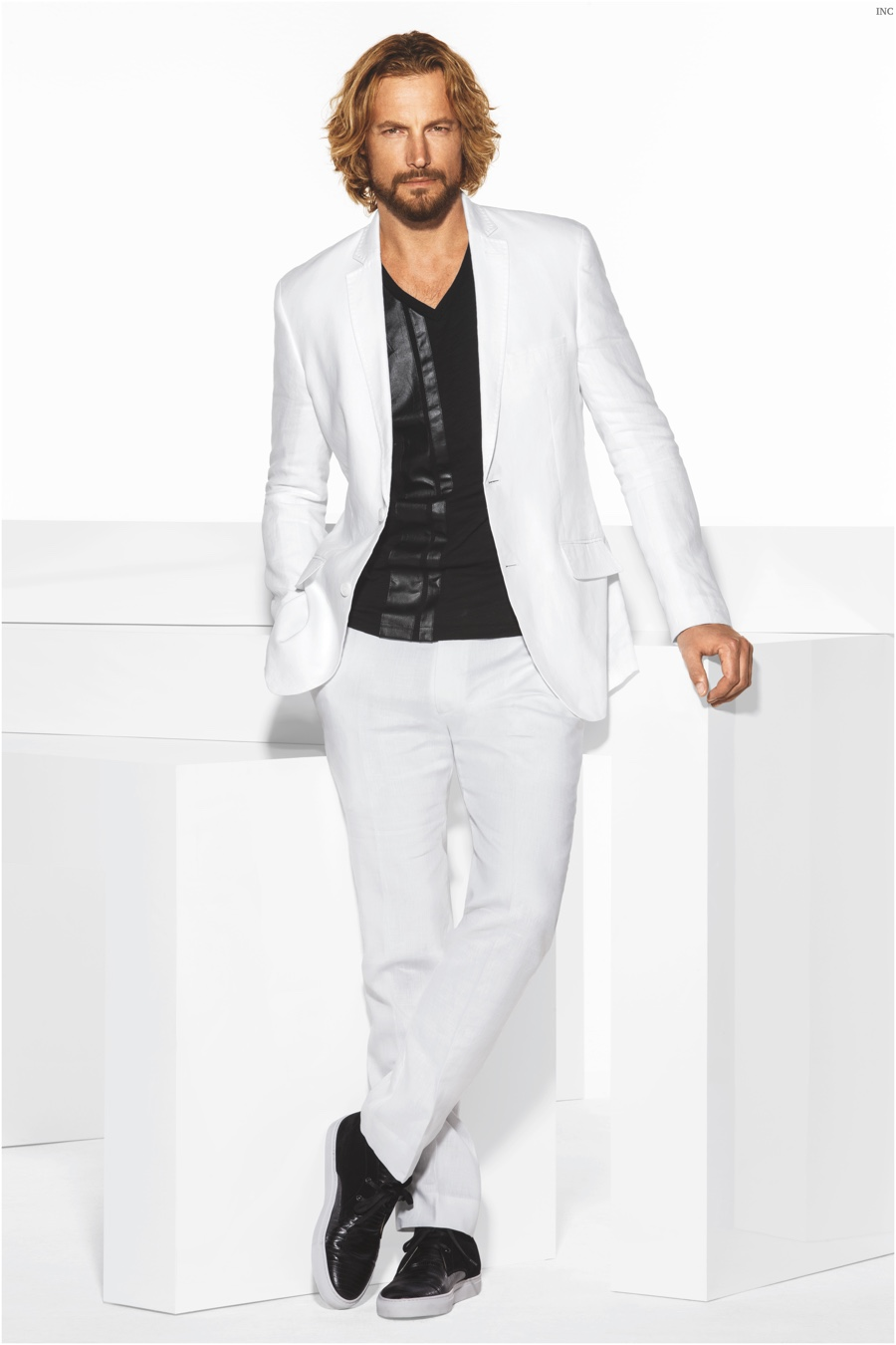 Gabriel Aubry Stars in Macy's INC Spring 2015 Campaign