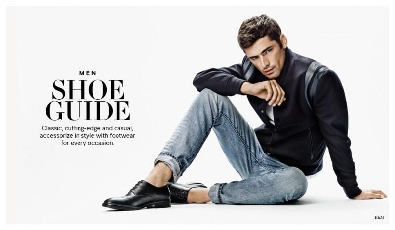 Sean O Pry Stars In H Amp M Men S Shoe Guide The Fashionisto