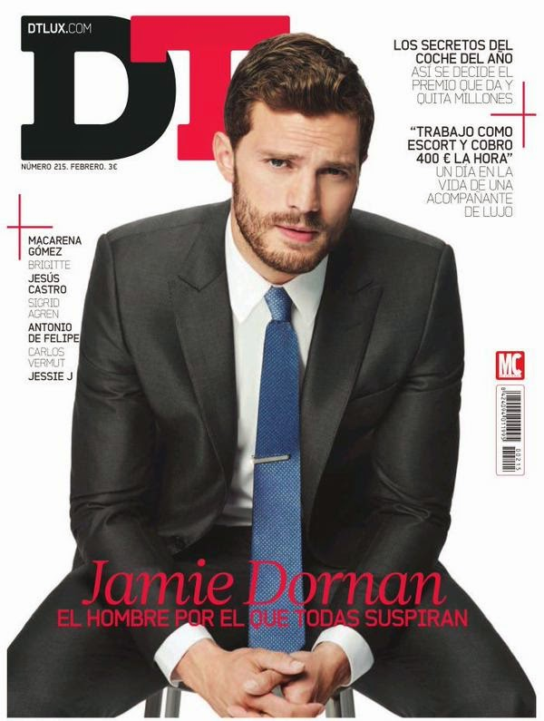 Jamie Dornan for DT February 2015