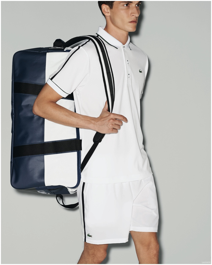 Lacoste Sport Delivers Chic Spring/Summer 2015 Men's Collection