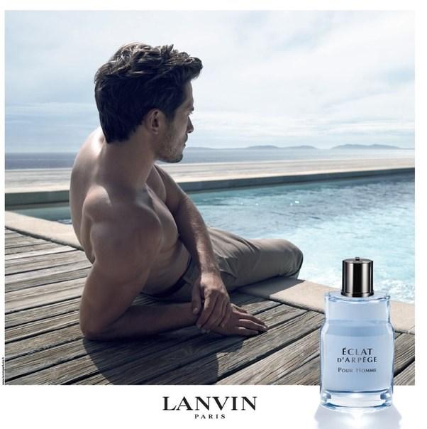 Lanvin Delivers Tranquil Moment for Eclat d'Arpege Pour Homme Men's Fragrance Campaign