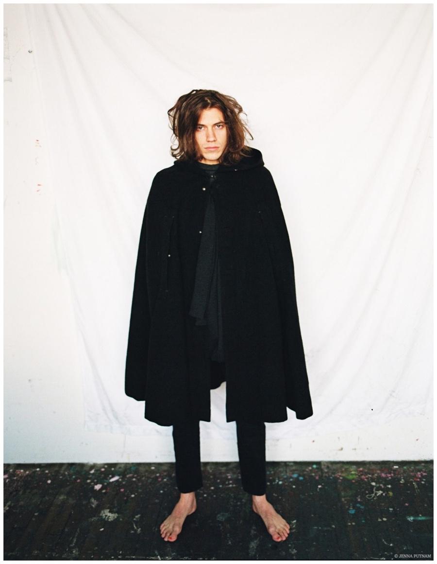 Lyle Lodwick Unveils Long Hair in Photos by Jenna Putnam