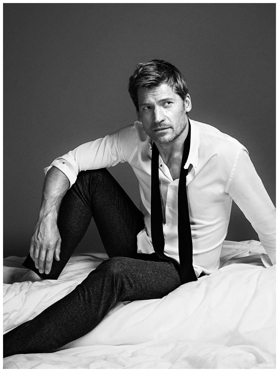 Nikolaj Coster-Waldau Wears Designer Fashions for GQ España February 2015 Cover Shoot