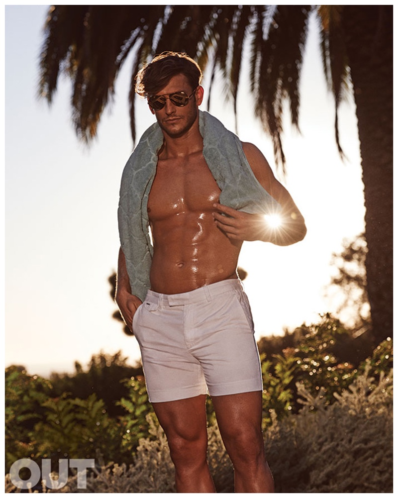 Parker Gregory Goes Hollywood for Out Fashion Editorial
