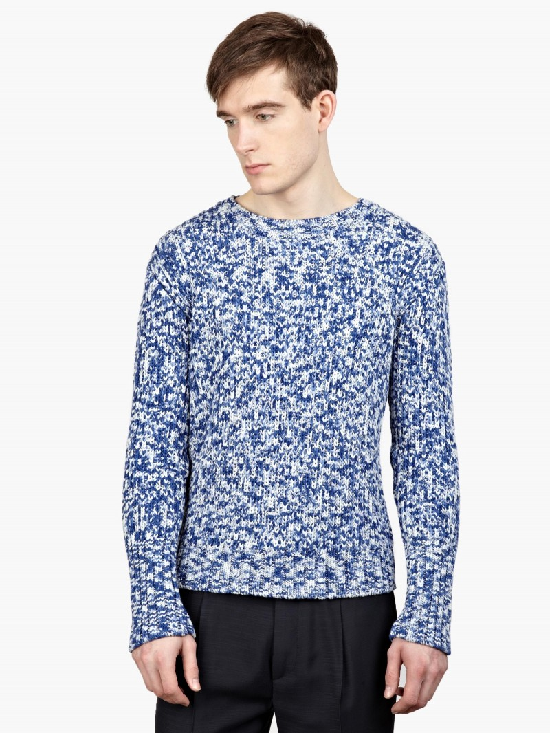 Raf Simons Blue Knitwear