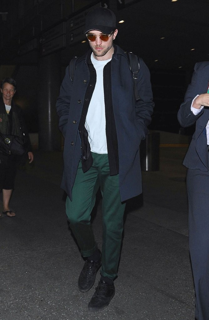 Robert Pattinson's Airport Style is Effortlessly Chic in Marni