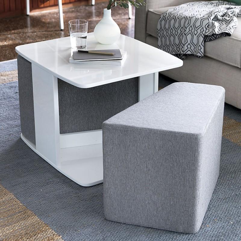 SAIC Deep Dish Table with 2 Cushions