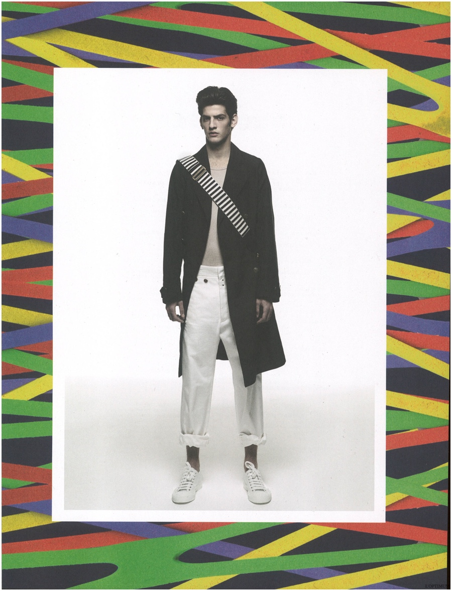 Nicolas Ripoll, Chris Garcia + More Model Spring Fashions for L'Optimum Editorial