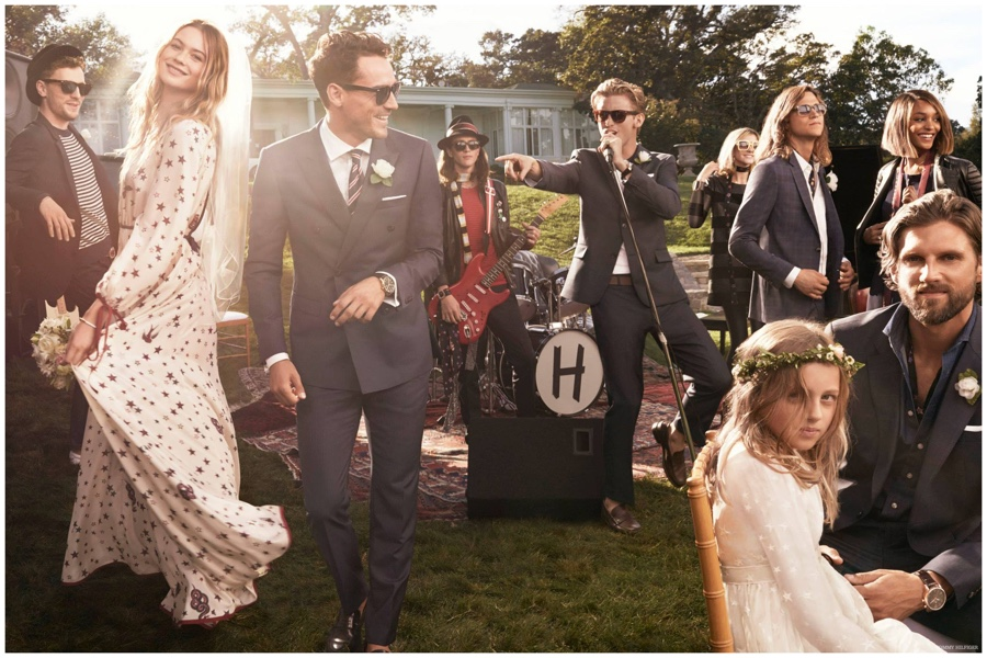 RJ King is the Wedding Singer in New Tommy Hilfiger Spring 2015 Ad Photos