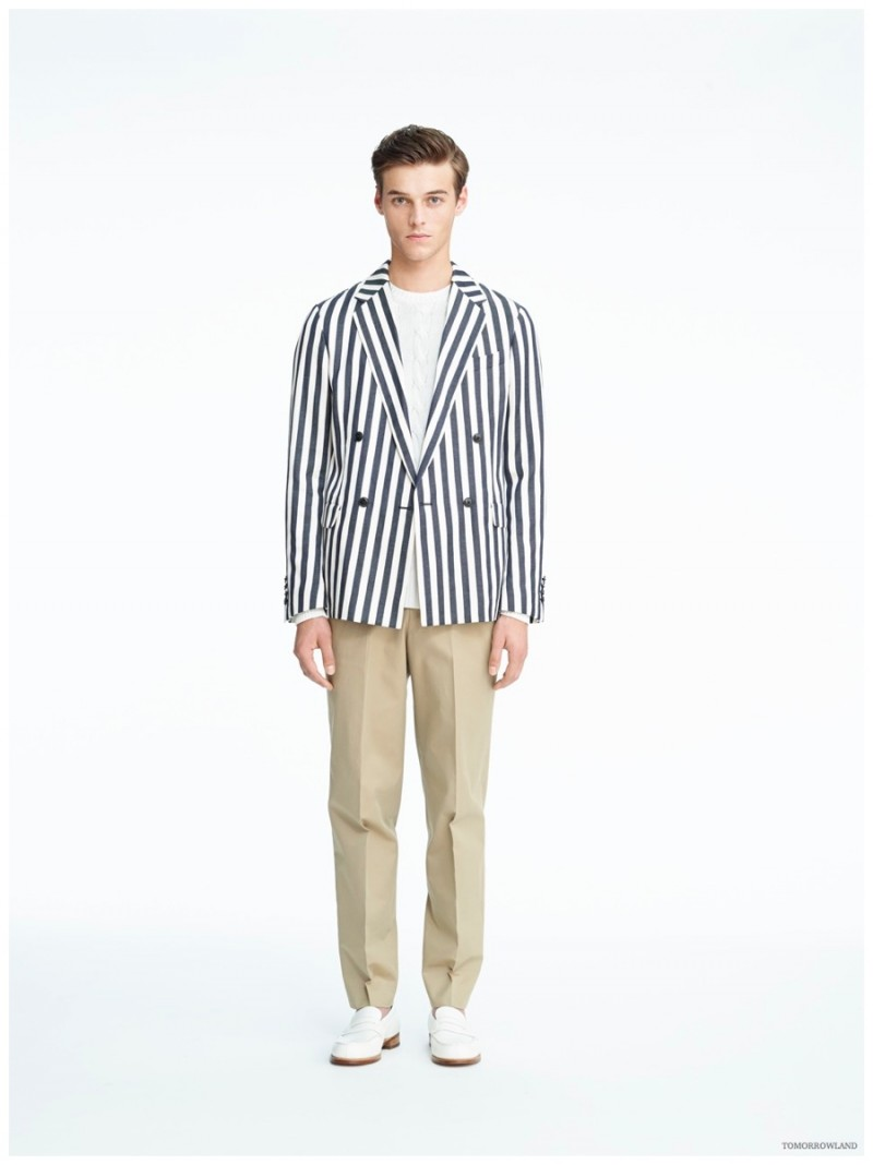 Tomorrowland Spring 20 Menswear Collection Striped Separates ...
