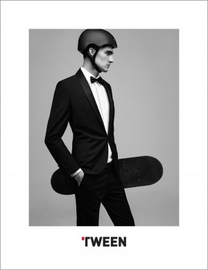Tween Embraces Skaters & Rockers in Suits for Spring 2015 Campaign