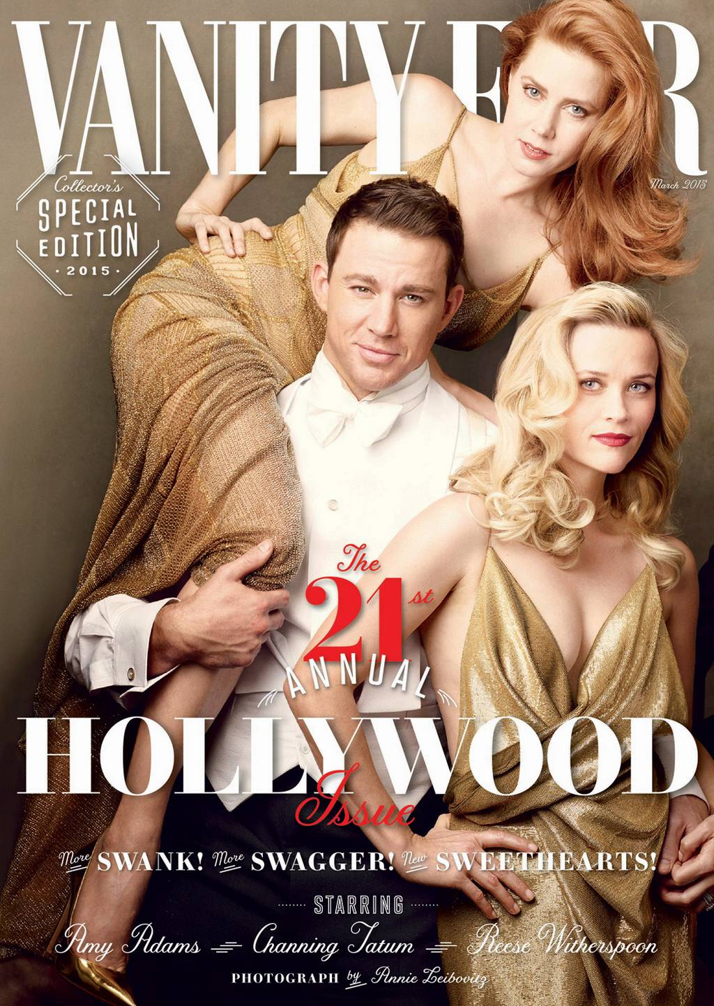 Channing Tatum, Eddie Redmayne + More Shoot Vanity Fair 'Hollywood' Issue Cover Story: See Behind the Scenes