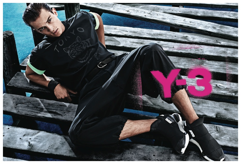 Y-3 Hits the Boardwalk for Spring/Summer 2015 Campaign Featuring Abel Van Oeveren
