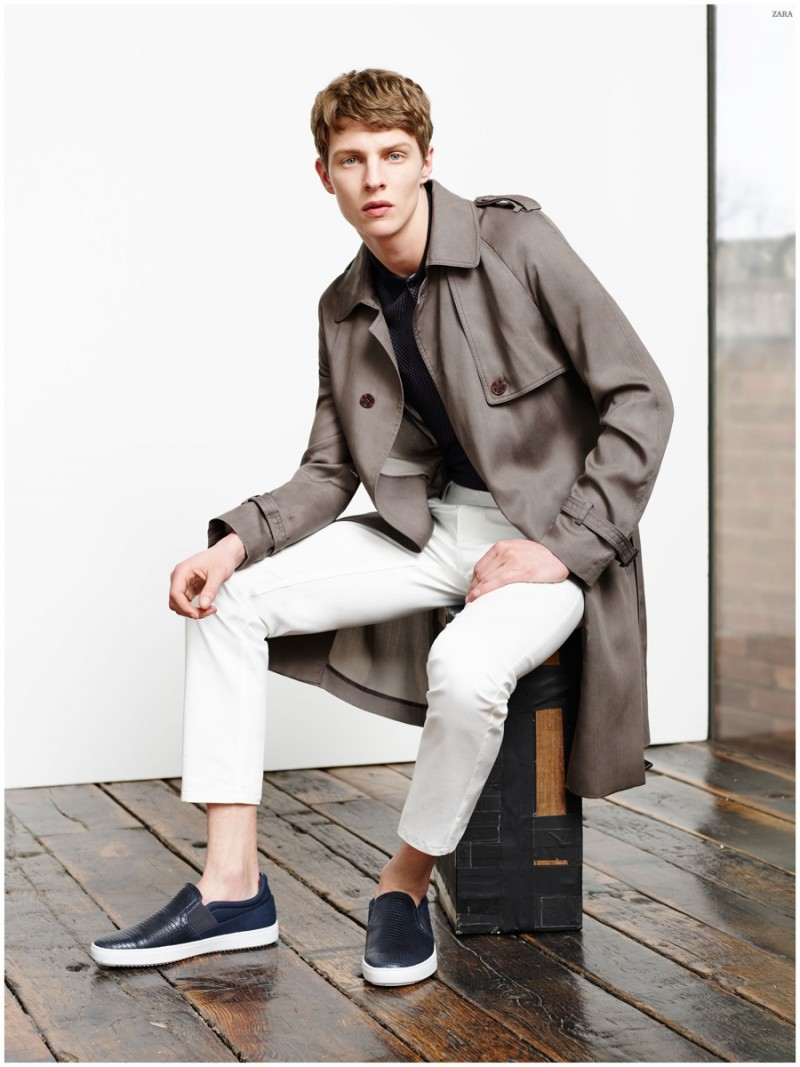 Zara Shares Chic Looks For Spring 2015 Menswear Collection
