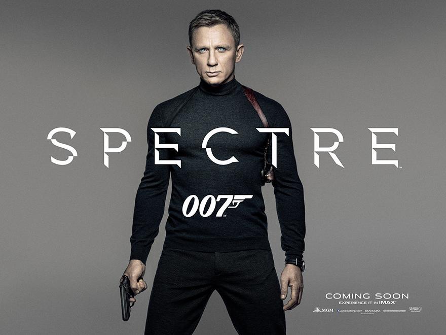 Daniel Craig Dons Turtleneck for 007
